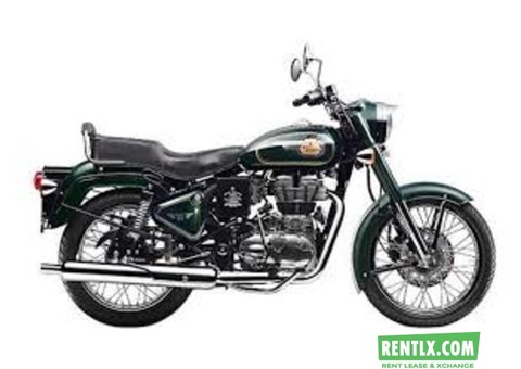 Royal Enfield Bullet 500 on Rent in Mumbai