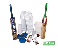 Cricket and Sports Kit on Rent in Mumbai