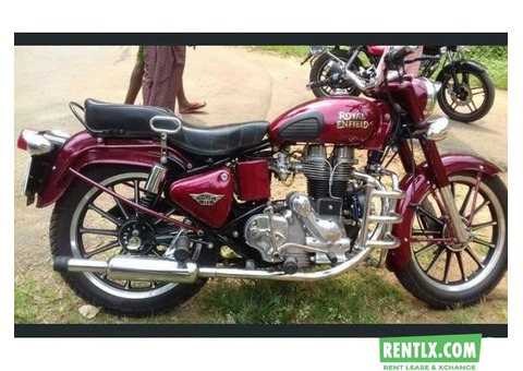 Royal Enfield on Rent in Trivandrum