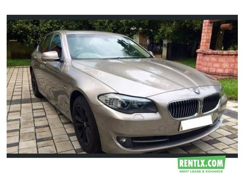 BMW 520d Full Option For Rent in Thrissur