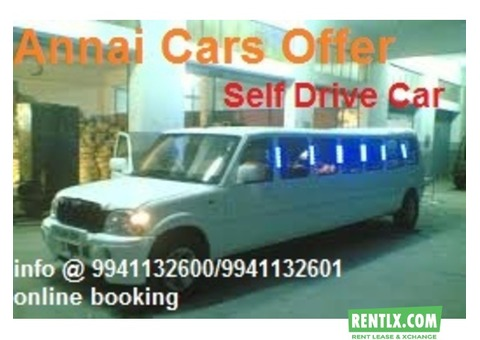 Self Driven Car on Rent in Chennai