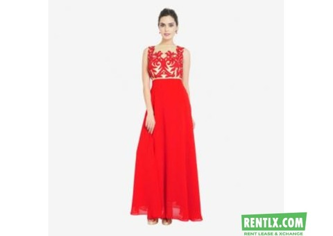 Beautiful western dresses on rent in Gaziabad