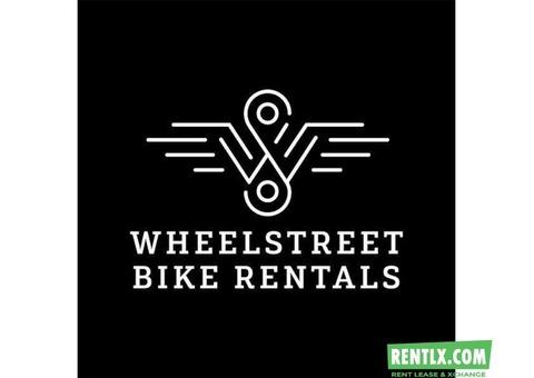 Wheelstreet - India's largest bike rentals