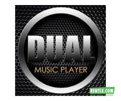 DUAL Music Player on rent in Ahmedabad