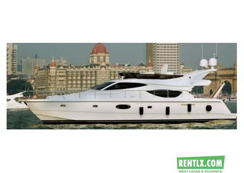 Private luxury yachts on rent in Mumbai