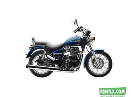 Royal Enfield on Rent in Goa