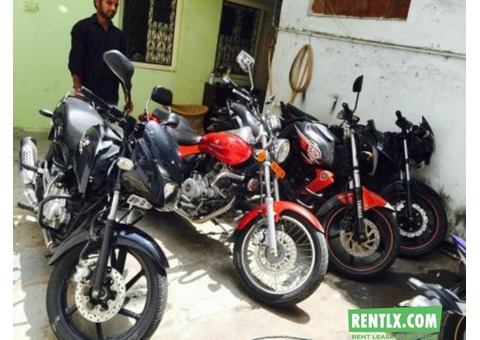 Motorcycles on Rent in Hyderabad