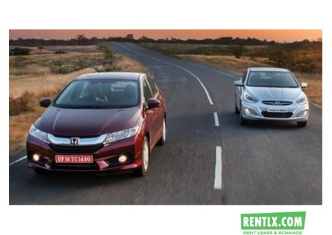 Honda city on self drive on rent in Chandigarh