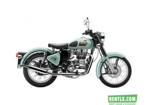 Royal Enfield Himalaya on Rent in Delhi