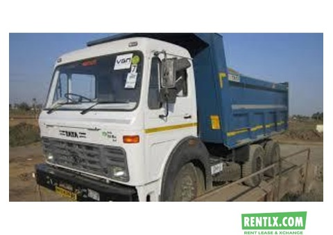 Tipper on rent in Singrauli