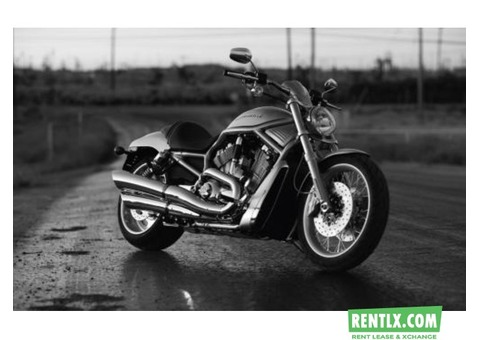 Harley Davidson Bike on Rent in Goa