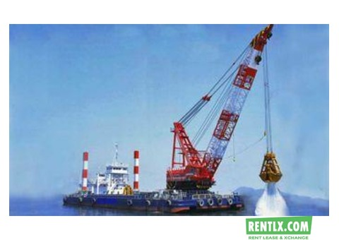 Dredger on rent in Indore