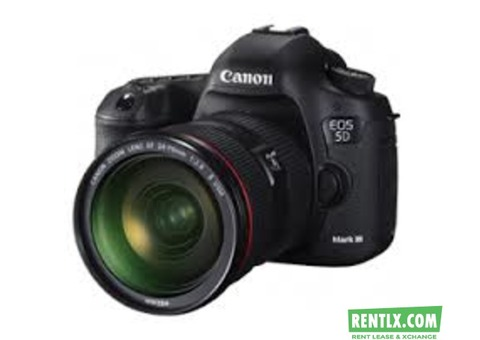 Camera on Hire in Allahabad