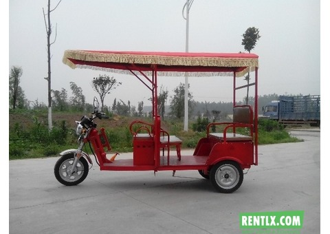 Electric Rickshaw on Rent in Gujarat