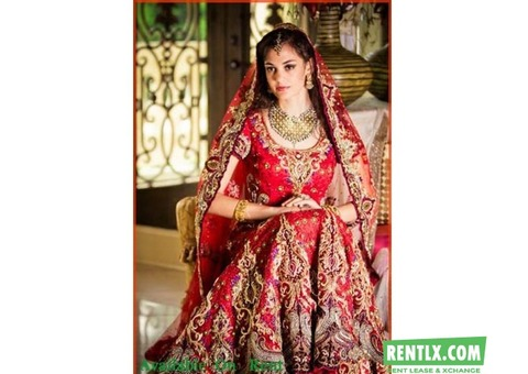 Bridal lehenga on rent in Chennai