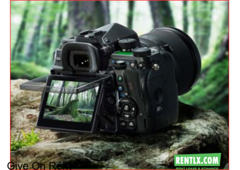 DSLR Cameras are available For Rent In Thrissur