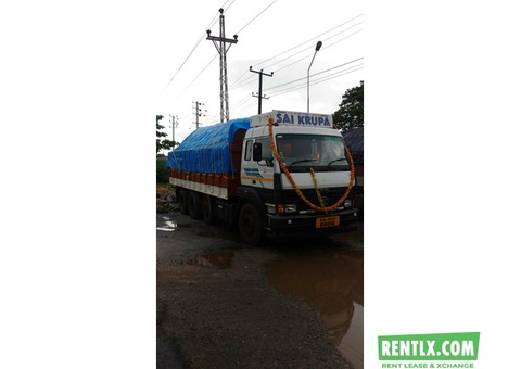 Tata 12 wheel truck for lease Udupi