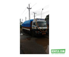 Tata 12 wheel truck for lease Udupi