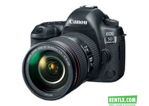 Camera on Rent in Raipur