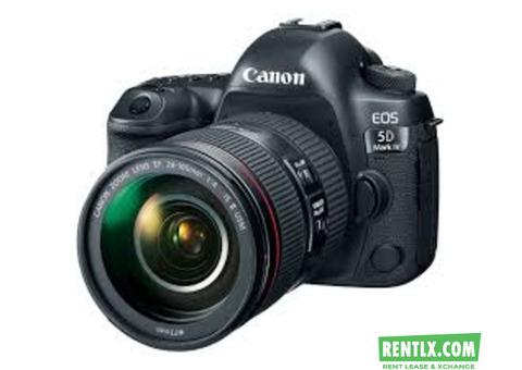 Camera on Rent in Raipur