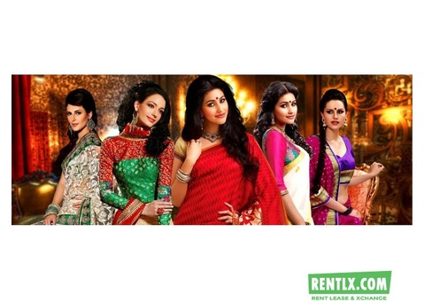 Indian Designer Sarees on Rent in kolkata