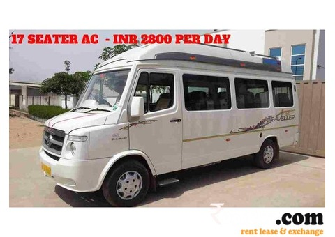 TEMPO TRAVELLER FOR HIRE IN KERALA