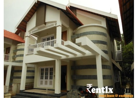 New gated community villa on rent