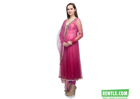Anarkali Dress on Rent in Bangalore