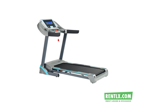 3HP Motorized Treadmill on Rent in Hyderabad