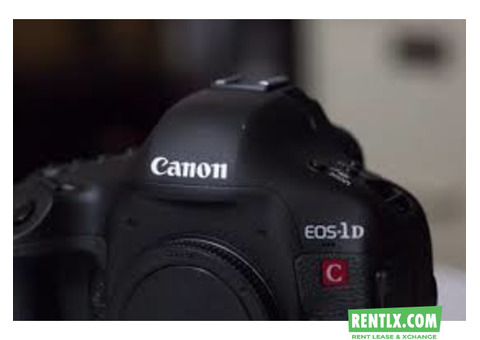 Canon 1DC 4K Camera on Rent in Pune