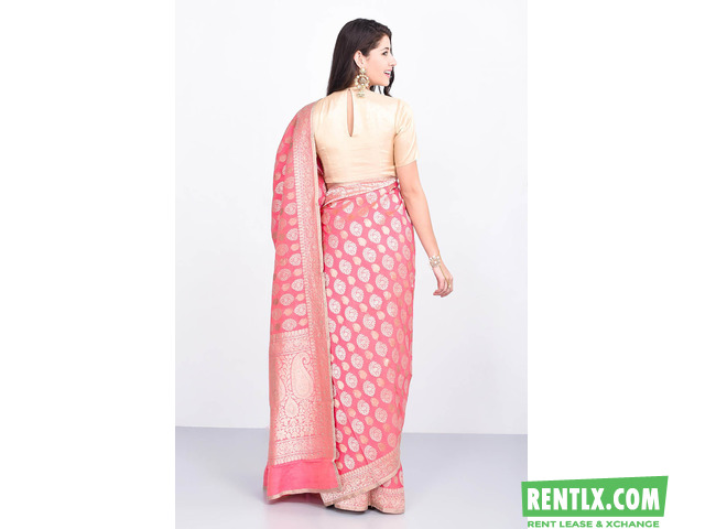 Saree on Rent in Hyderbad