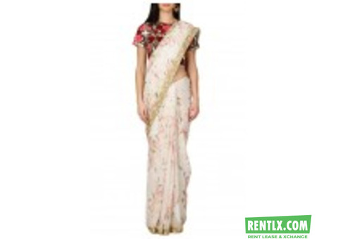 Saree on Rent in Delhi