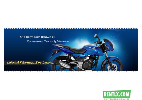 Self Drive Cars and Bikes Rentals in Madurai