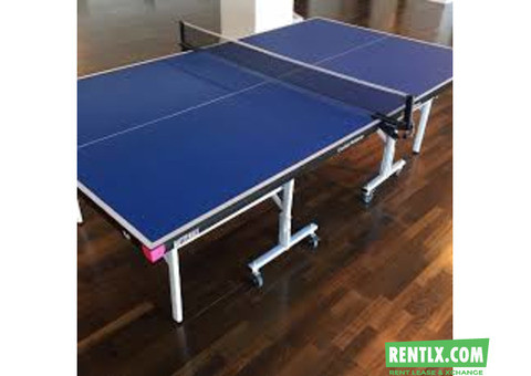 Table tennis table for rent in Mumbai