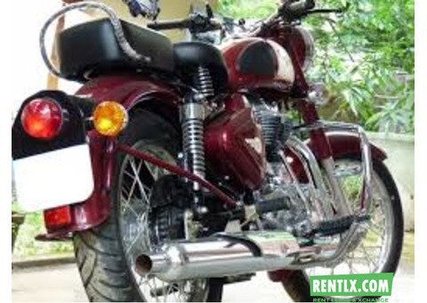 Self Drive Bike on Rent in Bangalore