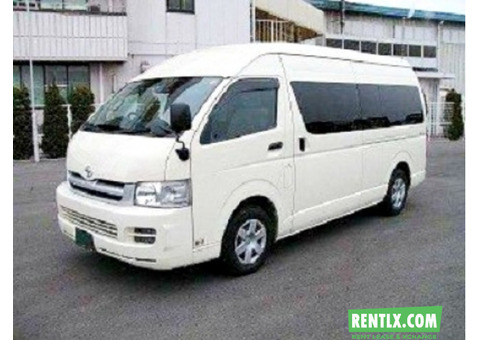 Van-Bus-Car Hire in Delhi