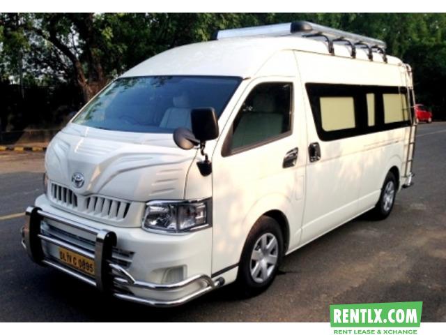 Van-Bus-Car Hire in Delhi