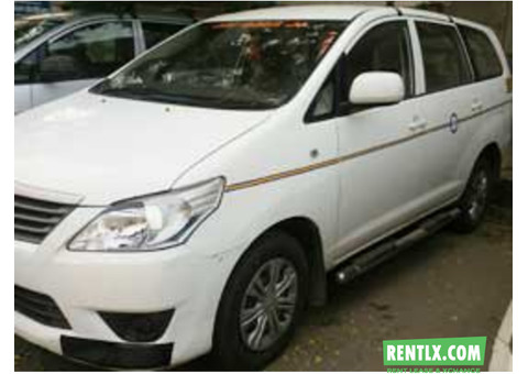 7+1 Seater Toyota Innova Car Hire in Delhi