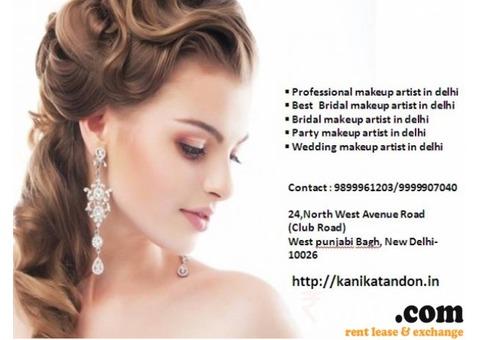 Kanikatandon Best Bridal makeup Artist in Delhi