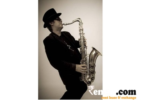 Saxophone Player Artist in Delhi,Gurgaon,Noida,Ghaziabad
