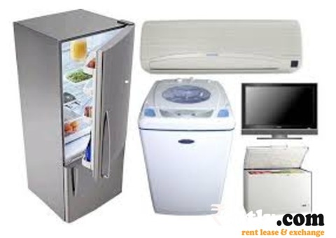 Household appliances  on rent