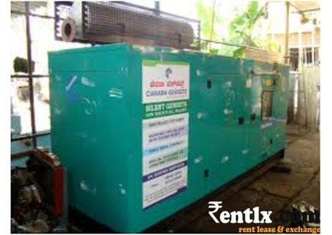 Genset available for rent