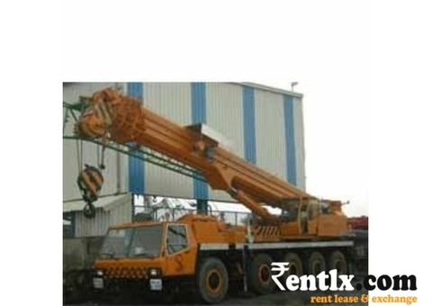 Hydraulic Telescopic Cranes Rental Services in New Delhi