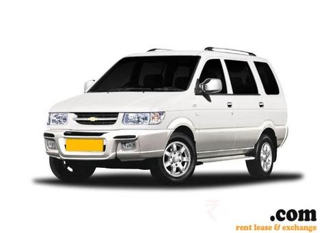 Tavera Car Rental Service -Mount Abu Udaipur Rajasthan