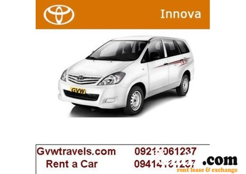 Car Rental Car Hire Taxi Service In Rajasthan