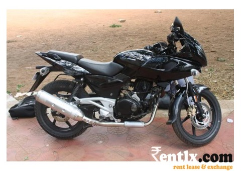 Bajaj Pulsar 220cc on Rent