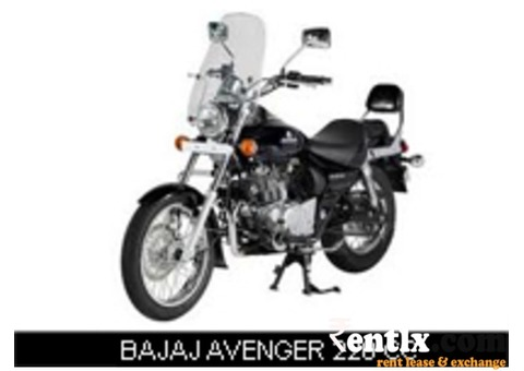 Bajaj Avenger 220 CC DTS-i on Rent