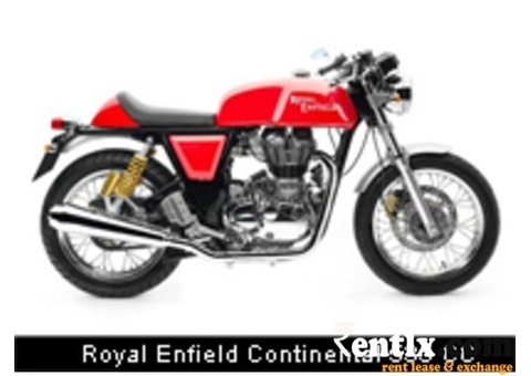 Royal Enfield Continental 535 CC on Rent