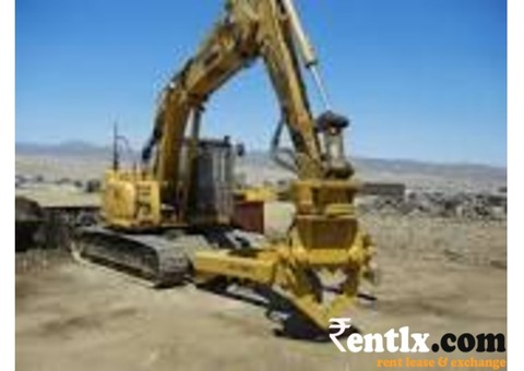 Available excavators on rent