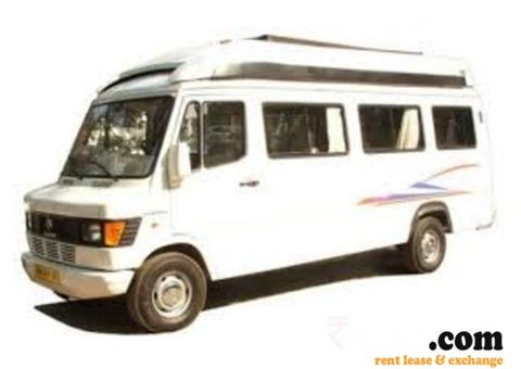 Offering Force Traveller 17 Seater Car for Rent in Udaipur